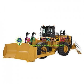 Worklng Model Of Bulldozer