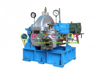 Air or Steam Pressure Turbine