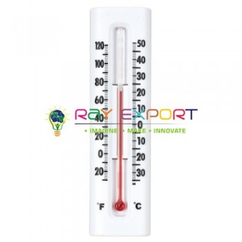 Wall Thermometer Wooden