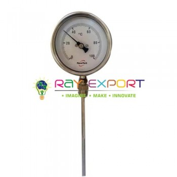 Wall Thermometer Bimetallic