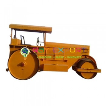 Working Model of Road Roller 3