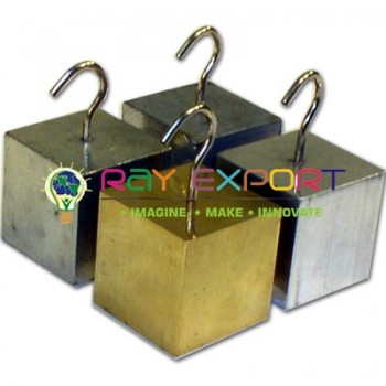 Cubes Metal with Hooks for Physics Lab